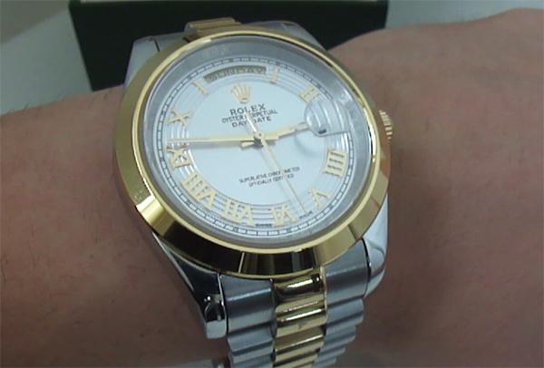 Two-Tone Rolex Day-Date Replicas De Relojes