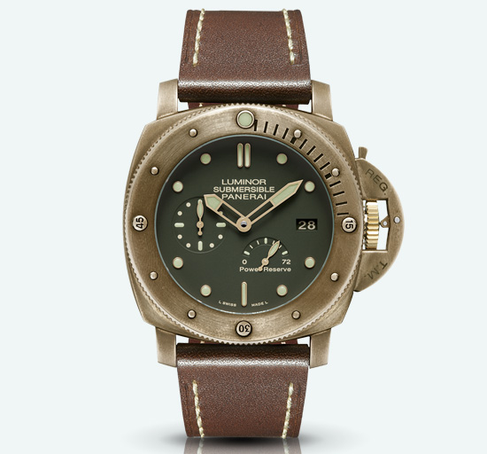 Panerai Luminor Submersible 1950 3 Days Power Reserve Automatic Replica