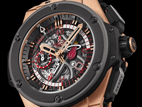 Hublot King Power Miami Heat Cronógrafo Replica