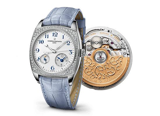 Reloj De Replica Vacheron Constantin Harmony Dual Time Frente