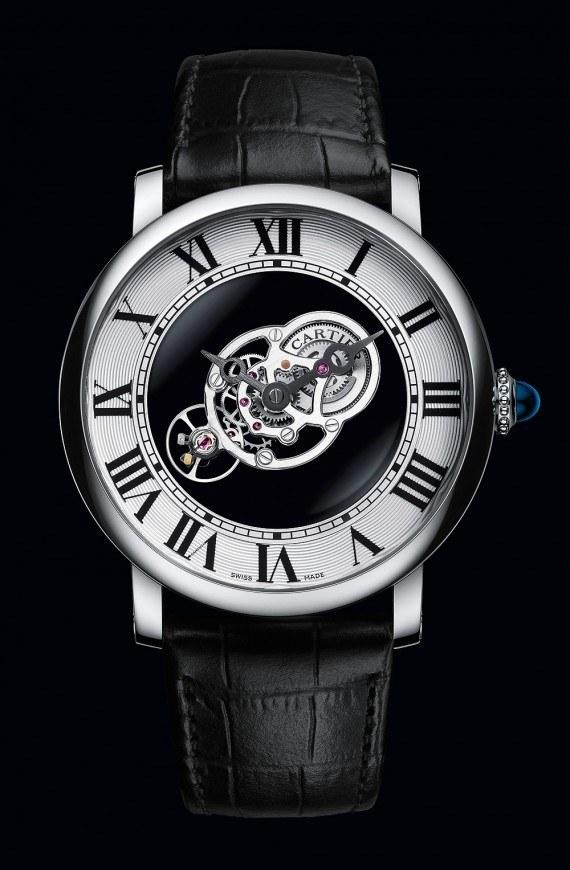 Cartier Rotonde de Cartier Astromystérieux Replicas De Relojes