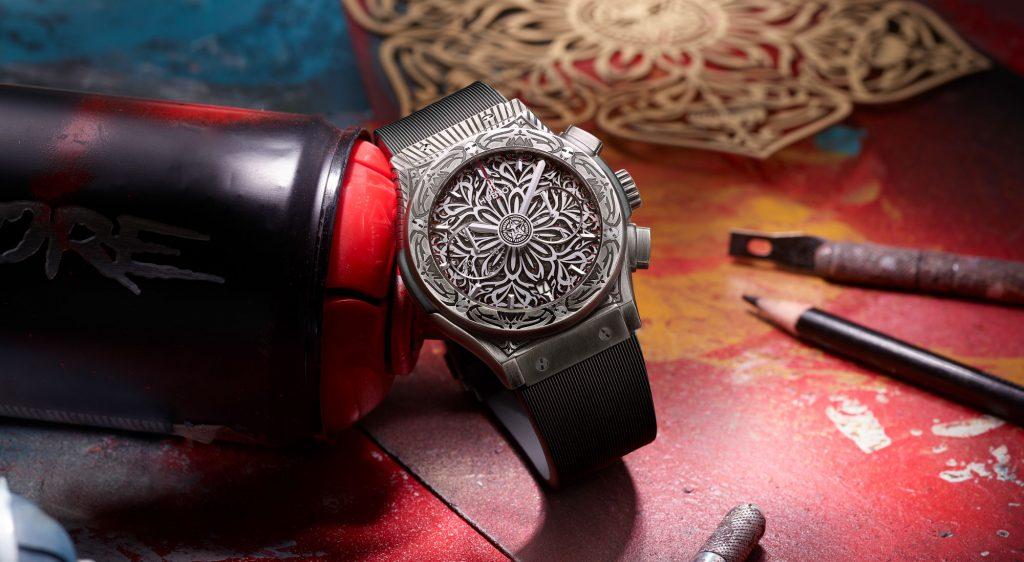 Replicas Relojes Hublot Classic Fusion Shepard Fairey Limited Edition