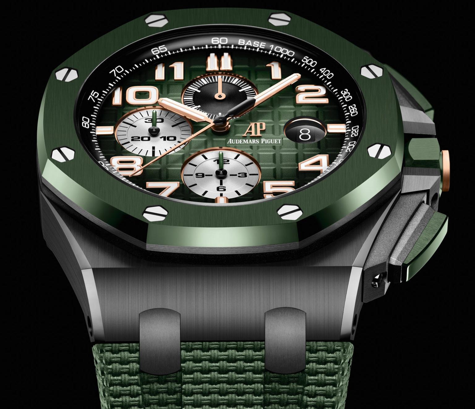 Audemars Piguet Royal Oak Offshore Selfwinding Chronograph 44mm Reloj Replica De Cerámica Negra